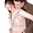 Beautiful couple expecting baby — Stock Photo #7748948
