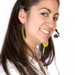 Stock Photo: Customer Support Girl