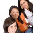 Stock Photo: Beautiful female friends