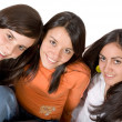 Stock Photo: Beautiful girl friends