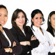 Females only customer service team — Stock Photo #7749006