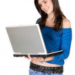 Browsing on laptop — Stock Photo #7749020
