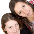 Stock Photo: Female friends portrait