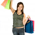 Shopping Schlussverkauf — Stockfoto