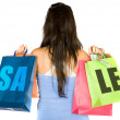 Shopping sale — Stock Photo