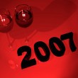 2007 new year celebration — Stock Photo #7749186