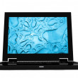 Black laptop — Stock Photo #7749221