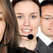 Business support team — Stock Photo #7749266