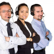 Business support team — Stock Photo