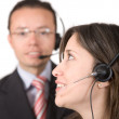 Business customer service — Stock Photo