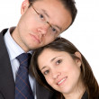 Business couple - Stock Photo