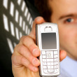 Stock Photo: Business mobile phone
