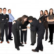Business developing team — Stock Photo