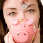 Piggy bank savings — Stock Photo