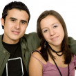 Casual young couple - Stockfoto