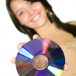 Stock Photo: Music CD