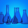 Chemistry test tubes - Stock Photo