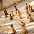 Street chess - Stock Photo