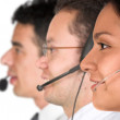 Customer service team - Stock Photo
