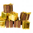 Golden gifts - Foto de Stock