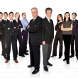 Entrepreneurs and their business team — Stock Photo