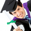 Graduation man portrait - Stock Photo