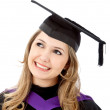Female graduate — Stock Photo #7749928