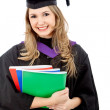 Graduation woman portrait — Stock Photo #7749929