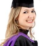 Female graduate — Stock Photo #7749931