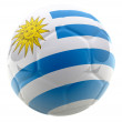 3D Uruguay football — Stock Photo #7749971