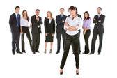 Líder empresarial — Foto Stock