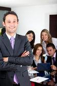 Confident business man — Stock Photo