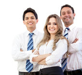 Confident young executives — Stock Photo