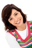 Happy girl portrait — Stockfoto