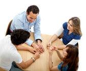 圆桌会议 — 图库照片