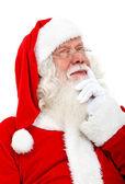 Santa pensive — Stock Photo