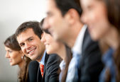 Business group in a meeting — Stock Photo