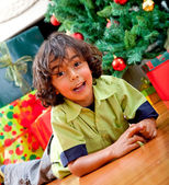 Christmas kid — Stock Photo