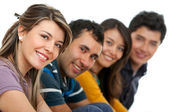Group of young adults — Stock Photo