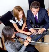 Affaires lors d'une réunion — Photo