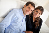 Beautiful loving couple — Stockfoto