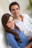 Beautiful loving couple — Stock Photo