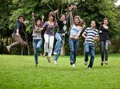 Group of happy — Stock Photo