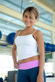 Beautiful gym woman — Foto de Stock