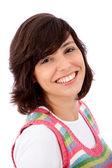 Portrait de femme heureuse — Photo