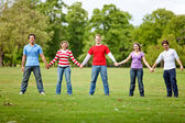 Group of friends — Stock Photo