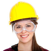 Female engineer — Stock Photo