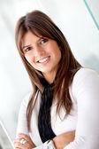Mulher de negócios linda — Foto Stock
