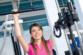 Gym woman — Foto de Stock
