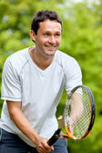 Tennis player — Stockfoto